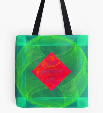 Antiquarian Pulsar infrared #fractal art Tote Bag