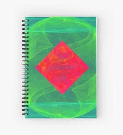 Antiquarian Pulsar infrared #fractal art Spiral Notebook