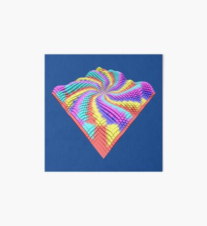 Cube Hero #Fractal Art Board Print