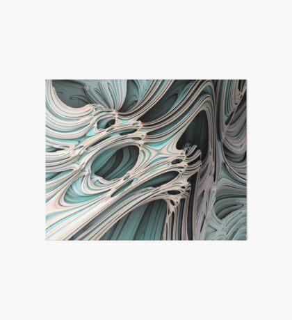 Cosmic creature #Fractal Art Board Print