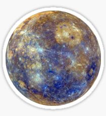 Mercury planet Sticker