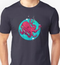 Octopus and Anchor T-Shirt