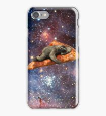 Pizza Sloth In Space iPhone Case/Skin