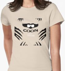 Coon and Friends Womens Fitted T-Shirt