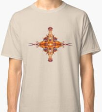 Energetic Geometry-  Abstract Sigil Symbol for Fortitude  Classic T-Shirt