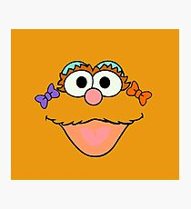 Sesame face Photographic Print