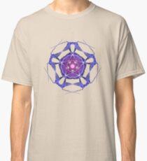 Energetic Geometry – Healing Star Flower of Harmonic Resonance -.. Classic T-Shirt