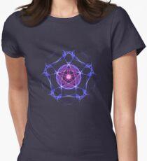 Energetic Geometry – Healing Star Flower of Harmonic Resonance -.. Women's Fitted T-Shirt