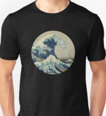 Hokusai Kaiju T-Shirt Slim Fit T-Shirt