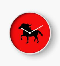 Welsh Mountain Pony Clock