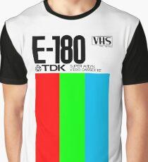 VHS Tape Retro Graphic T-Shirt