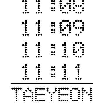 SNSD Taeyeon 11:11 by nurfzr