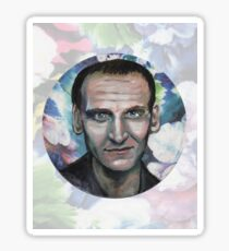 Doctor Who, The Floral Ninth Doctor Sticker