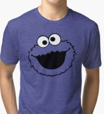 cookies monster Tri-blend T-Shirt