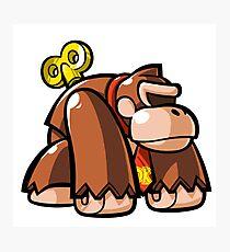 Donkey Kong Toy Photographic Print