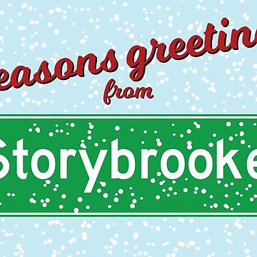 Season's greetings from Storybrooke by VancityFilming
