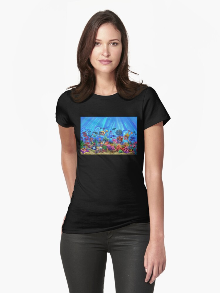 Under the Sea Womens T-Shirt Front