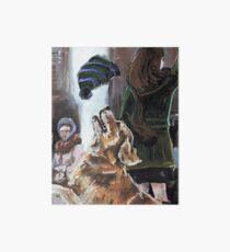 The Mary Tyler Moore Golden Retriever Art Board