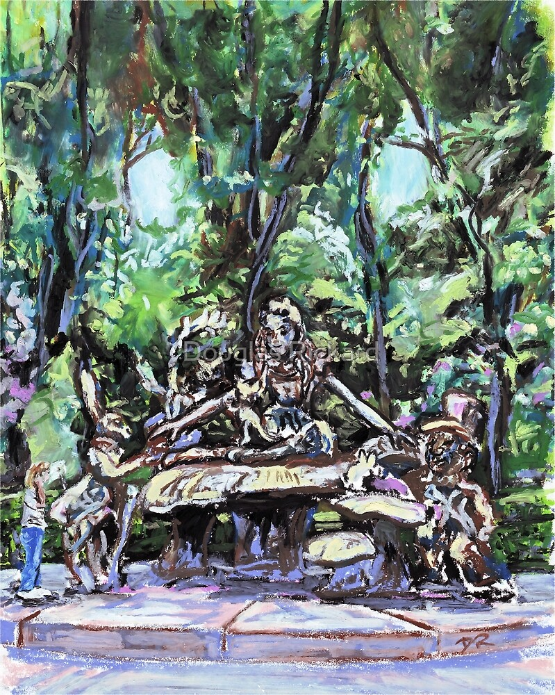 Alice in Wonderland statue, Central Park, NYC by Douglas Rickard