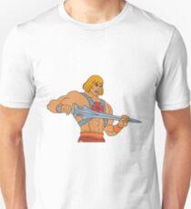 He-man Filmation style Unisex T-Shirt