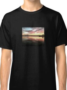 Sunset Reflected On Water Classic T-Shirt
