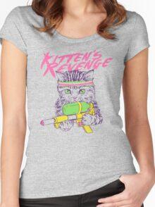 Kitten's Revenge Women's Fitted Scoop T-Shirt