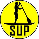 SUP STAND UP PADDLE BOARD PADDLEBOARD WATER SPORTS RIVER OCEAN LAKE by MyHandmadeSigns