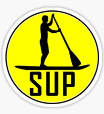 SUP STAND UP PADDLE BOARD PADDLEBOARD WATER SPORTS RIVER OCEAN LAKE Sticker