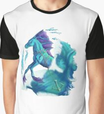 Cheval de l'eau, esprit aquatique, Sea horse, marine creature Graphic T-Shirt