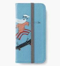 The Ancient Skater, Forever Skate ukiyo e style iPhone Wallet/Case/Skin