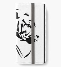 White Tiger iPhone Wallet/Case/Skin