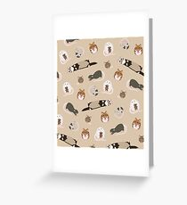 small pets Greeting Card