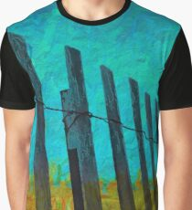 Barriers to the beach Graphic T-Shirt