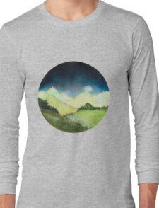 Land Maan Land Moon Long Sleeve T-Shirt