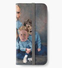 Family portrait - City  iPhone Wallet/Case/Skin