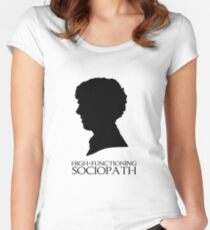 High-Functioning Sociopath Women's Fitted Scoop T-Shirt