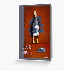 Will Bullas card / duck tape Greeting Card
