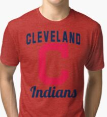 Cleveland Indians Tri-blend T-Shirt