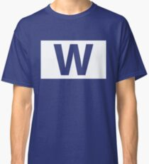 Chicago Cubs Majestic W Flag Classic T-Shirt