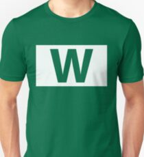 Chicago Cubs Majestic W Flag Unisex T-Shirt