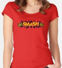 Super Smash Bros. Women's Fitted Scoop T-Shirt