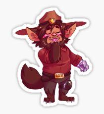 Little Werewolf Mccree :3c Sticker