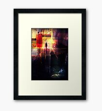 In The City... Framed Print
