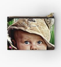Portrait: If you go into the woods today... Studio Pouch