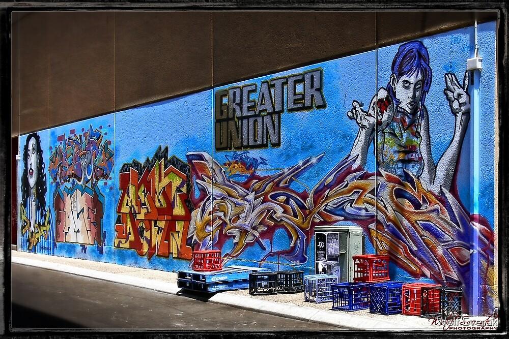 Street Art in Canberra CBD (1) by Wolf Sverak