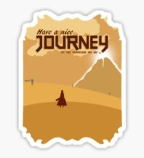 Have a Nice Journey Sticker