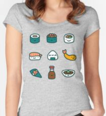 Sushi Lover Women's Fitted Scoop T-Shirt