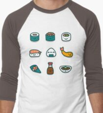 Sushi Lover Men's Baseball ¾ T-Shirt