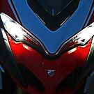 Face Of Ducati by Chet  King