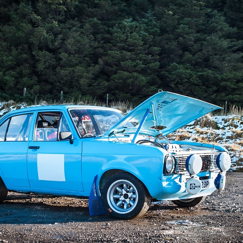 Mk2 escort rally car\